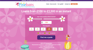 Pixie Loans - Short Term Loan (Payday) CPA offer