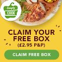 Free SimplyCook Box +£2.95 P&P [UK] CPA offer